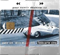 CARTE²-PRIVEE-5U-12/93-GN 09a-GEMA-BMW 328 1940-Série 9004-2e Logo-NSB-TBE LUXE- - 5 Unità