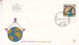 SATELLITE COMMUNICATION, SATELITE. ISRAEL 1972 SPC HA-ELA.- LILHU - Telecom