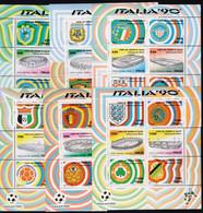 ITALIA - COMPLETE  BL - **MNH - 1990 - 1990 – Italia