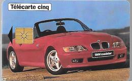 CARTE²-PRIVEE-5U-12/96-GN283-GEMA-BMW ROADSTER Z3-Série 9001-Neuve-TBE LUXE- - 5 Unità