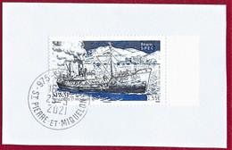 """St.Pierre Et Miquelon 2021 Oblitéré  YT 1260  """" Le Béarn """"  Cachet   St.Pierre - Used Stamps"""