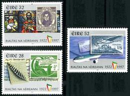 Irlande Ireland Eire 2000 Irish Republic 75 Years Boeing 737 (YT 1020, Mi 1024, St Gibbons 1116) - Aerei