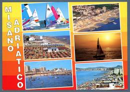 °°° Cartolina - Misano Adriatico Vedute Viaggiata (l) °°° - Rimini