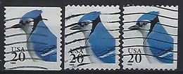 USA  1996  Blue Jay  (o) Mi.2753  BC+BD L+r - Gebraucht