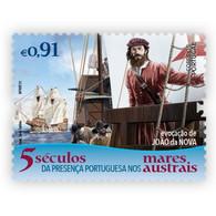 Portugal ** & V Centuries Of The Portuguese Presence In The Austral Seas, João Da Nova Evocation 2021 (77763) - Esploratori