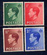 GB - 205/208** - GEORGE VI - Unused Stamps
