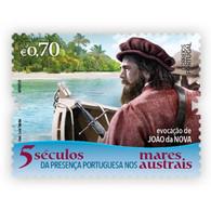 Portugal ** & V Centuries Of The Portuguese Presence In The Austral Seas, João Da Nova Evocation 2021 (77762) - Esploratori