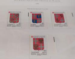 SMOM 1990 1991 STEMMI - SERIE COMPLETA - INTEGRI - Sovrano Militare Ordine Di Malta