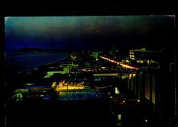 °°° Cartolina - Misano Adriatico Notturno Viaggiata (l) °°° - Rimini