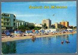 °°° Cartolina - Saluti Da Misano Adriatico Viaggiata (l) °°° - Rimini
