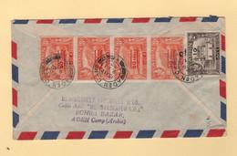 Aden Camp - 1952 - Par Avion Destination France - Aden (1854-1963)
