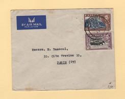 Ceylan - Par Avion Destination France - Ceylon (...-1947)