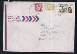 Finlandia - Enveloppe De Timbre Moderne En Circulation - Briefe U. Dokumente