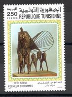 1997- Tunisia - Commemoration Of Great Artist Painters Works In Tunisia: Hedi Selmi - Sinner Of Men - MNH** - Altri