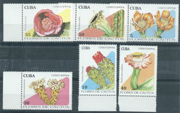 SP  Cuba 1994 - One Set Of 6 Cacti Cactus Flora Flowers Flower Plants Plant Nature Opuntia Dillenii Stamps MNH - Unused Stamps
