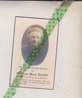 Marie Baert-Van Cleemput, Exaerde 1856, Anderlecht-Brussel 1931. Foto - Obituary Notices