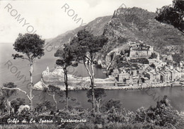 CARTOLINA  GOLFO DI LA SPEZIA,PORTOVENERE,SPIAGGIA,MARE,SOLE,ESTATE,LUNGOMARE.VACANZA,BELLA ITALIA,VIAGGIATA 1959 - La Spezia