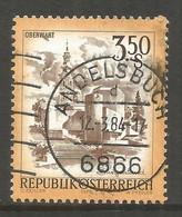 AUSTRIA. 3.50s BUILDINGS. USED ANDELSBUCH POSTMARK. - 1971-80 Usados