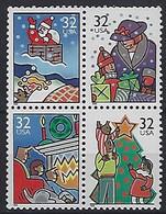 USA  1996  Christmas  (**) MNH  Mi.2785-2788 - Ungebraucht