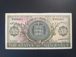 GUERNESEY 1 POUND 1969 - Guernsey