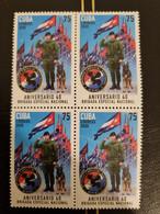 CUBA NEUF 2020 1er CHOIX // BRIGADES SPECIALES 75c // BLOC DE 4 - Unused Stamps