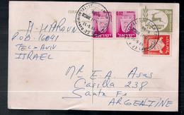 Israel - Enveloppe De Timbre Moderne En Circulation - Storia Postale