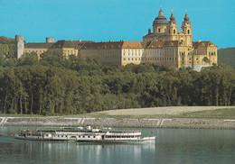 """Stift Melk Mit Dampfer """"Stadt Passau""""10 X 15 - Autres"""