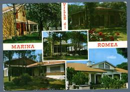 °°° Cartolina - Marina Romea Vedute Viaggiata (l) °°° - Ravenna
