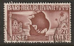 Italy 1950 Sc 542 Yt 565 Used - 1946-60: Usati
