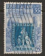 Italy 1951 Sc 569 Yt 592 Used - 1946-60: Usati