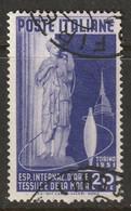 Italy 1951 Sc 577 Yt 598 Used - 1946-60: Usati