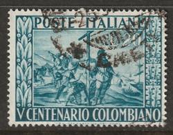 Italy 1951 Sc 578 Yt 597 Used - 1946-60: Usati