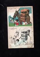 """Carte à Colorier - """"Le Joyeux Moulin"""" - Publicité NESTLE - Ane Et Farine Lactée - Autres"""