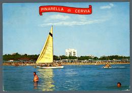 °°° Cartolina - Pinarella Di Cervia Veduta Dal Mare Viaggiata (l) °°° - Ravenna