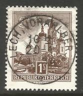 AUSTRIA. 1S USED LECH VORARLBERG POSTMARK - 1961-70 Usados