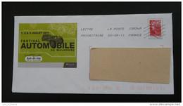 Festival Automobile 2011 Bugatti Mulhouse 68 Haut Rhin PAP Postal Stationery 2555 - Automobili