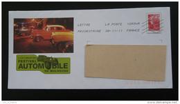 Automobile Cadillac Mulhouse 68 Haut Rhin PAP Postal Stationery 2559 - Automobili