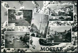1359 - Bosnia And Herzegovina - Mostar 1965 - Mosque - Bridge - Postcard Used - Bosnië En Herzegovina