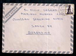 Japon - Enveloppe De Timbre Moderne En Circulation - Storia Postale