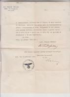 LETTERA  1944 CON TIMBRO SS - Documenti Storici