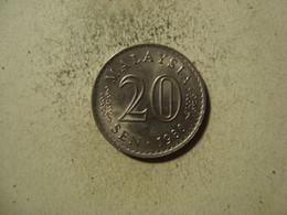MONNAIE MALAYSIE 20 SEN 1980 - Malaysia