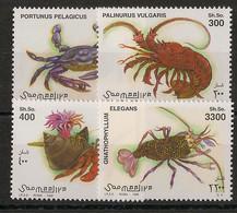 Somalia - 1998 - N°Mi. 705 à 708 - Faune / Crabes - Neuf Luxe ** / MNH / Postfrisch - Somalië (1960-...)