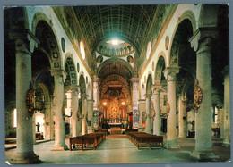 °°° Cartolina - Piacenza Chiesa Monumentale Di S. Sisto Interno Viaggiata In Busta (l) °°° - Piacenza