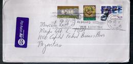 Nueva Zelanda - Enveloppe De Timbre Moderne En Circulation - Covers & Documents