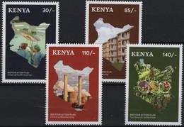 Kenya 2019, Big Four Action Plan, MNH Stamps Set - Kenya (1963-...)