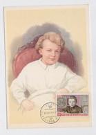 CARTE MAXIMUM CM Card USSR RUSSIA Lenin October Revolution Child - Cartoline Maximum