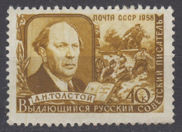 1958-USSR-A.TOLSTOY/WRITER-MINT SET* - Nuovi