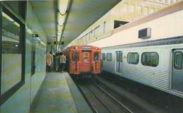 747 – Toronto Ontario Canada – Subway Metro Trains – Animation - VG Condition – 2 Scans - Toronto