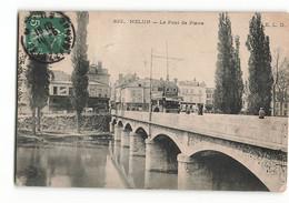 Le Pont De Pierre Le Tramway Tram à MELUN 822 ELD E LE DELEY Paris - Melun
