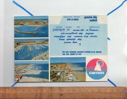 CARNON Hérault 34 : Diverses Vues Aériennes Sur La Ville Le Port La Plage - Altri Comuni